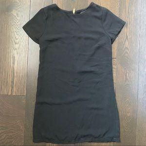 Lulu Black T-Shirt Dress